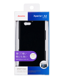 docomo Xperia A2/Xperia J1 compact 専用スタイリッシュハードケース